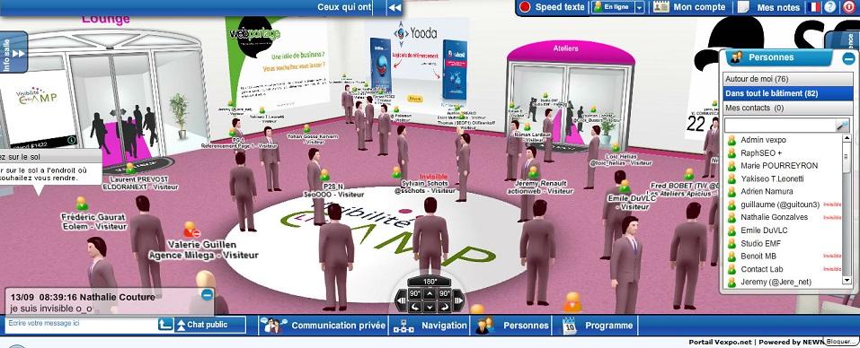 entre séminaires virtuel et l'événementiel avec les réseaux sociaux